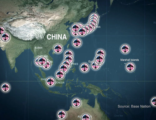 How Would We Respond If 400 Military Bases Surrounded The USA?