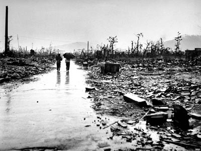 hiroshima destruction of city