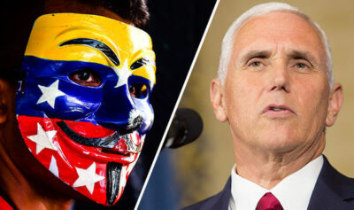 Pence warns that Venezuela is on the road to dictatorship